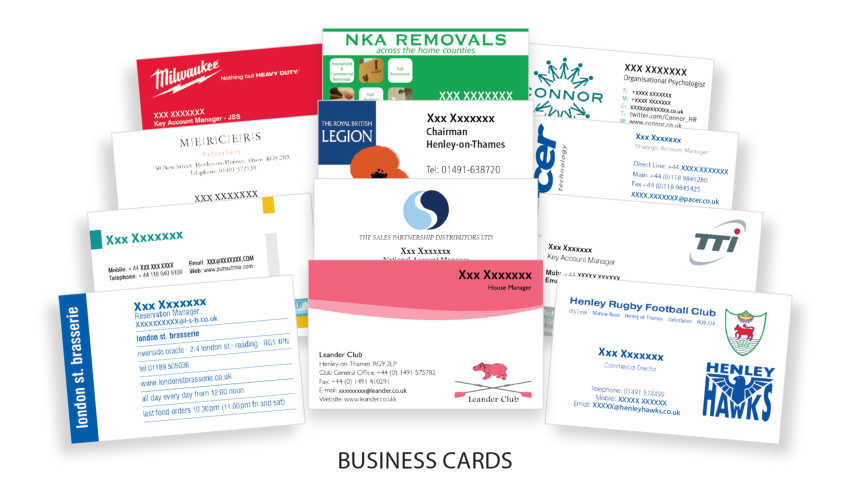 Products business cardsg make a lasting first impression with our high quality great value business cards reheart Images